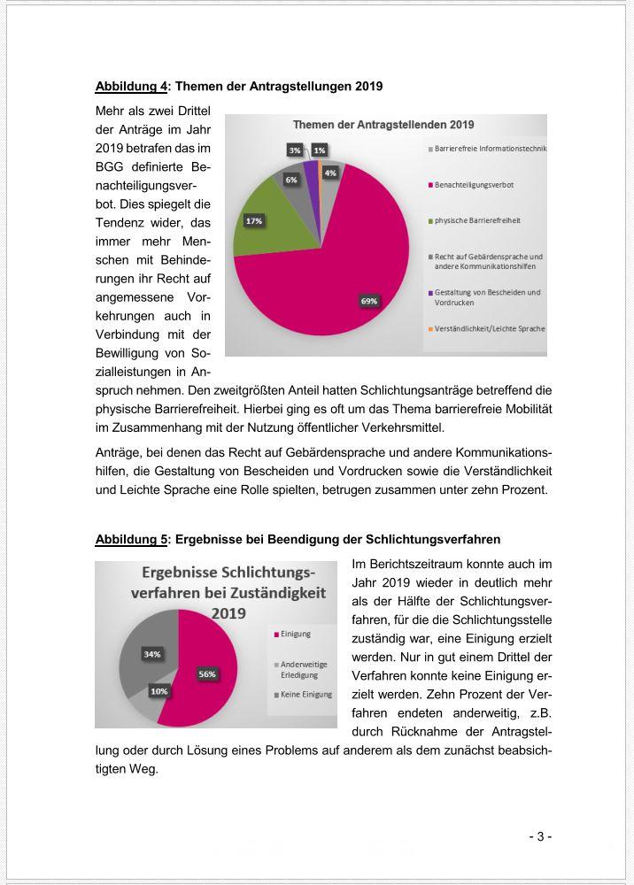 Schlichter statt Richter – Schlichtungsstelle BGG legt dritten Jahresbericht (2019) vor